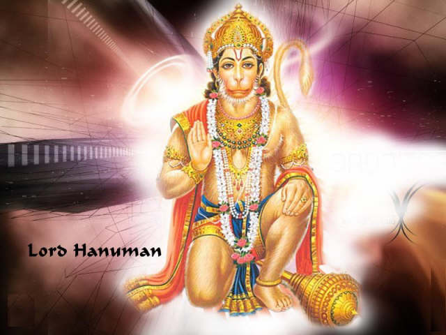 image of god hanuman ji. Lord Hanuman was born on the chaitra